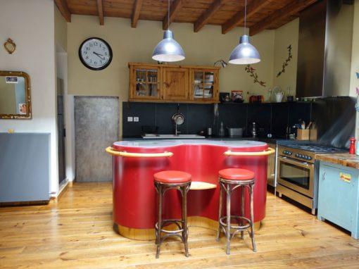 Transformation d'une grange en pièce à vivre et rénovation de maison