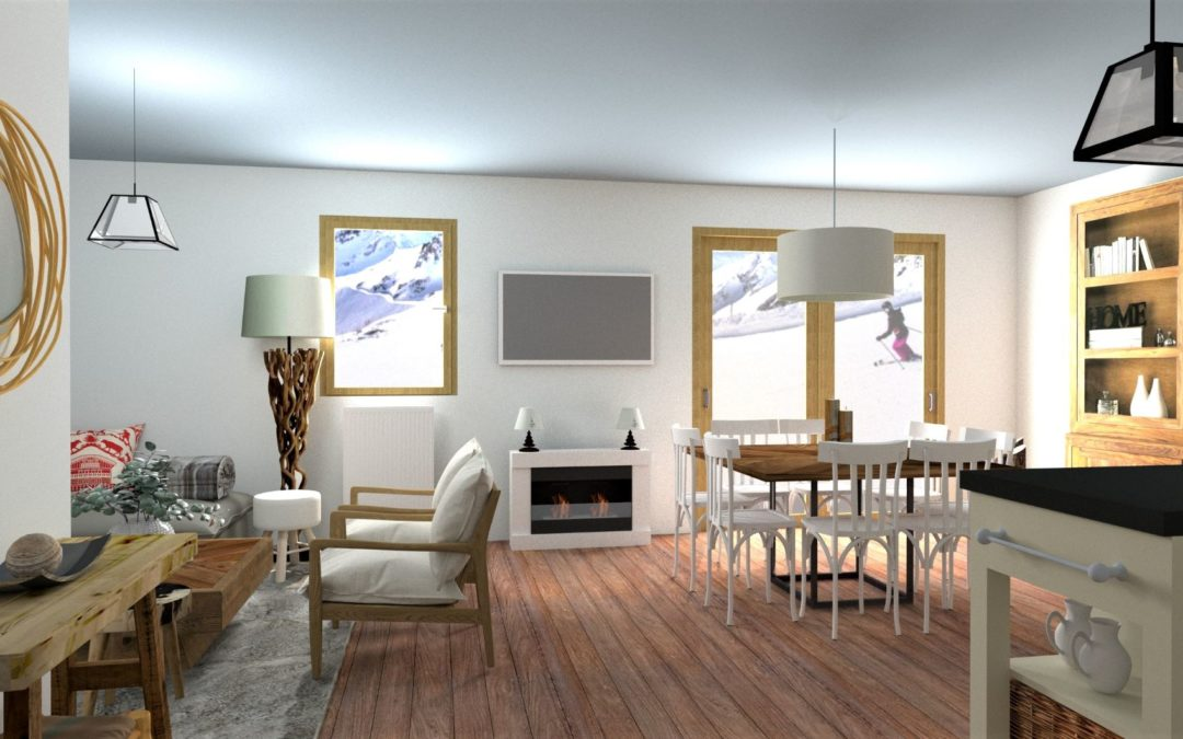Appartement style chalet