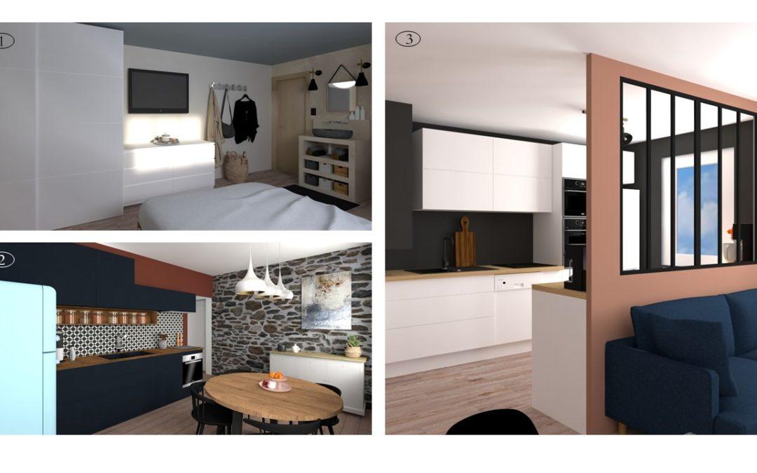 Les projets d'une architecte d'intérieur à Lyon
