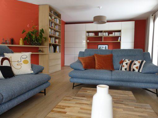 Rénovation et relooking d'une villa à Lyon